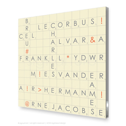 word canvas art albertopolis grey square