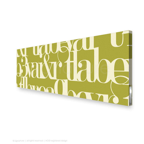 word canvas art kensington green panoramic