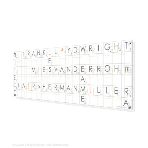 word perspex art albertopolis grey panoramic