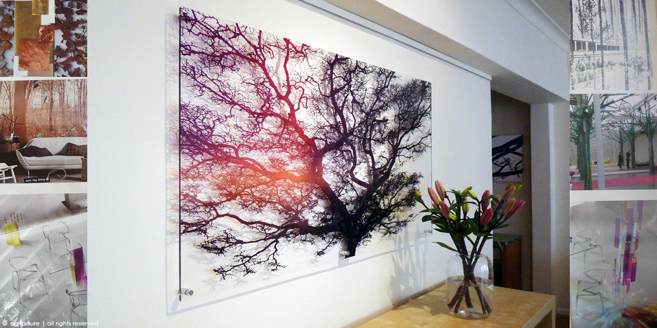 unique transparent perspex artworks created bespoke to your specification