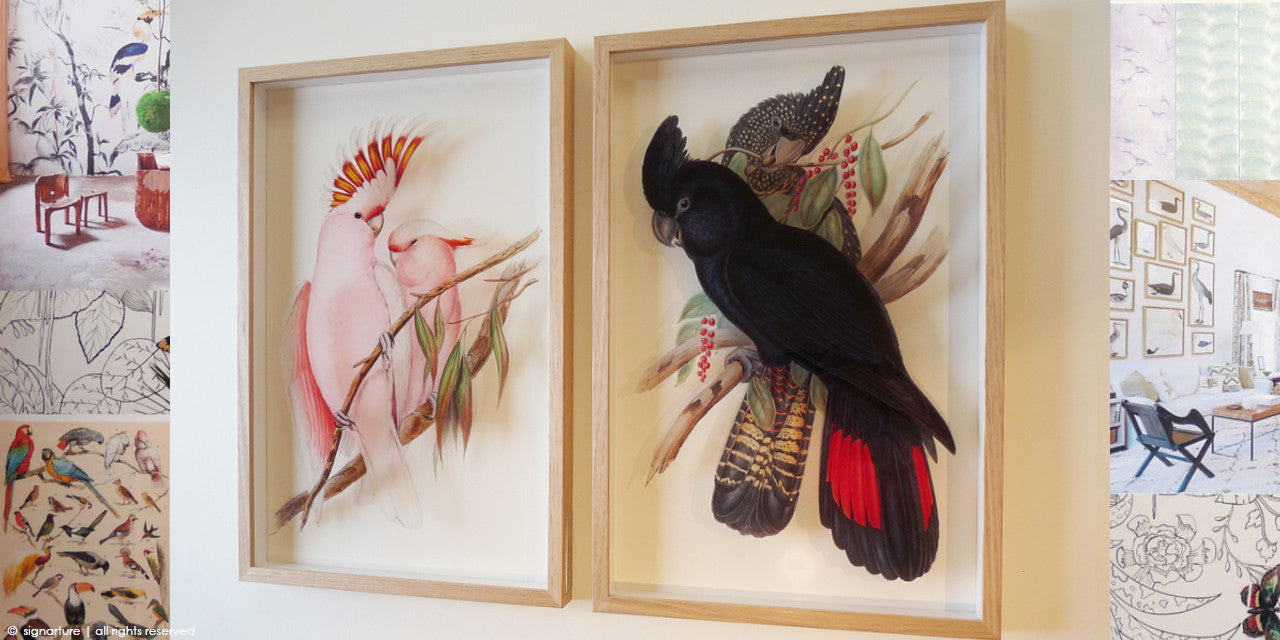 fine art prints on perspex bring new life to vintage illustration