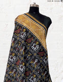 lack Patola Dupatta with Narikunj Design