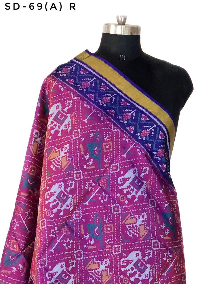 Single ikkat patola dupatta