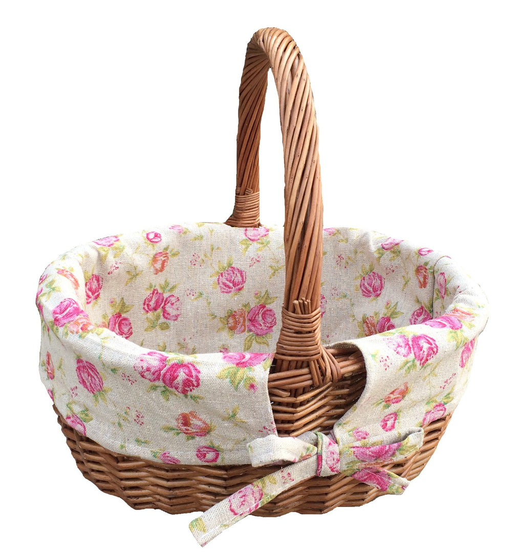 Double Steamed Oval Shopping Basket