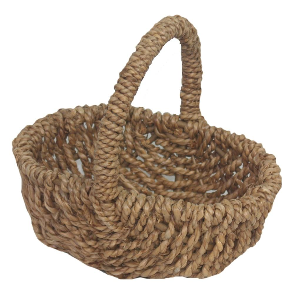 Shopping Basket Small Rush Shopper