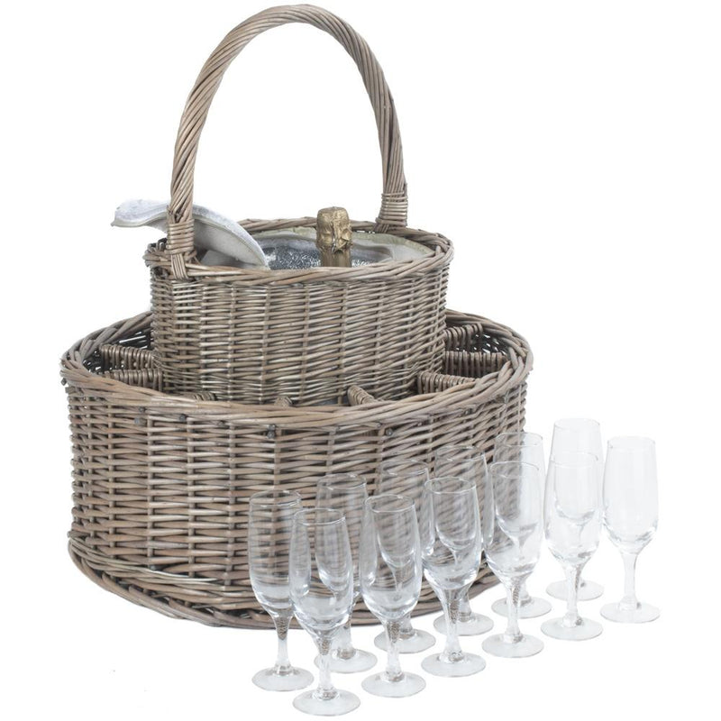 Chilled Drinks Picnic Basket