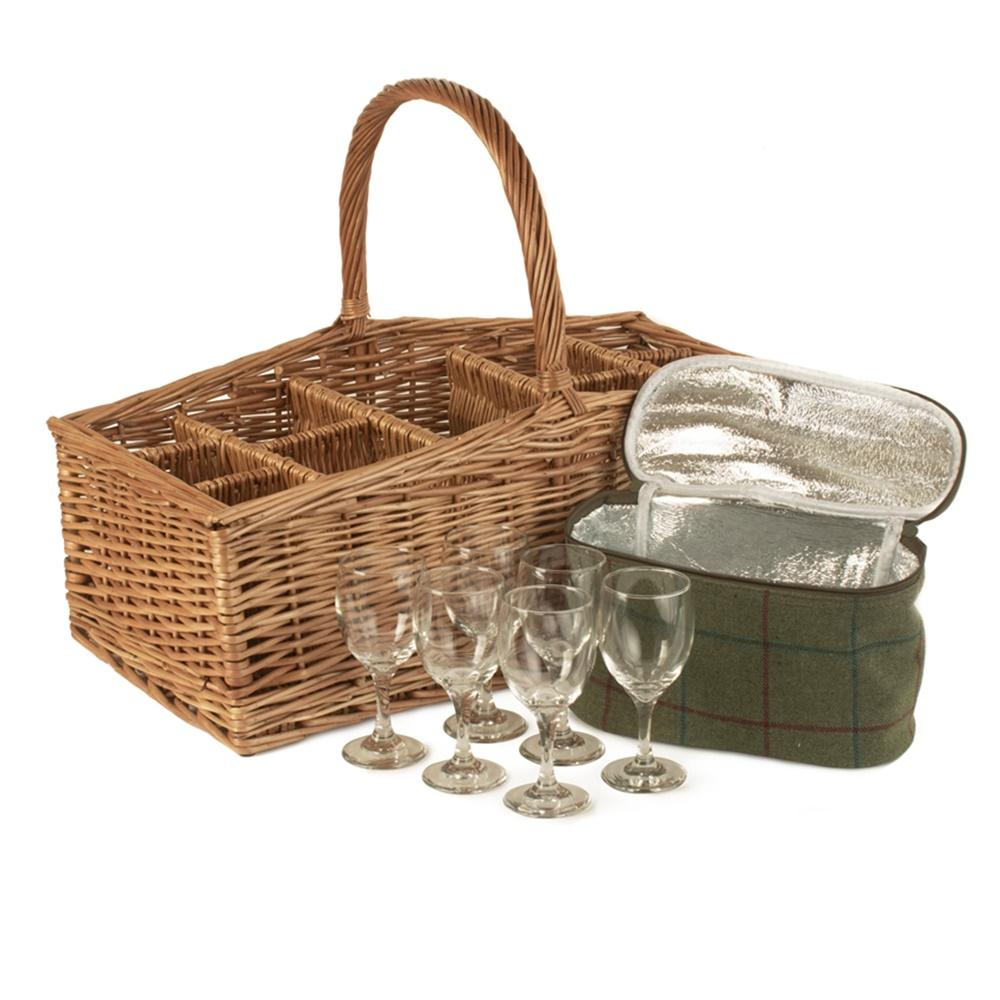 Wicker Outdoor Party Basket