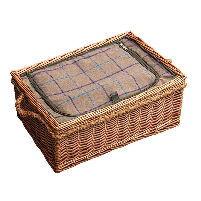 Cheltenham Wicker Picnic Basket with Fitted Cooler