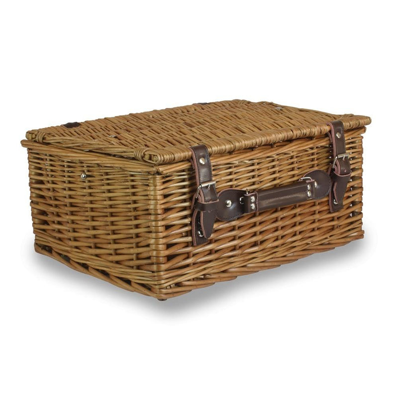 Double Steamed Wicker Picnic Basket