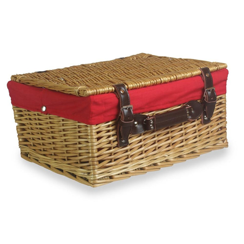 Wicker Buff Picnic Basket