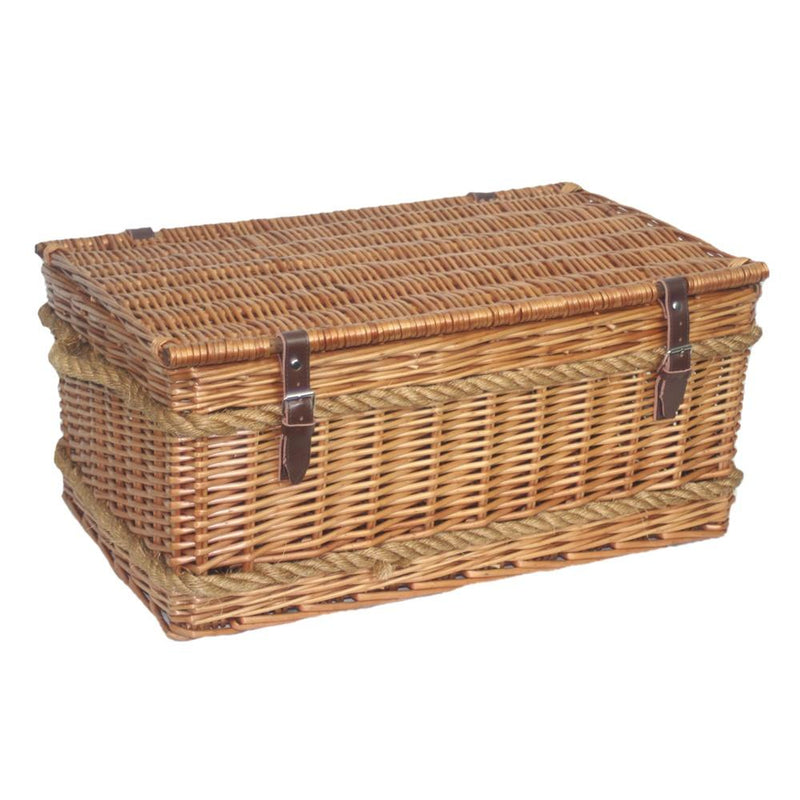 62cm Roped Handled Picnic Basket