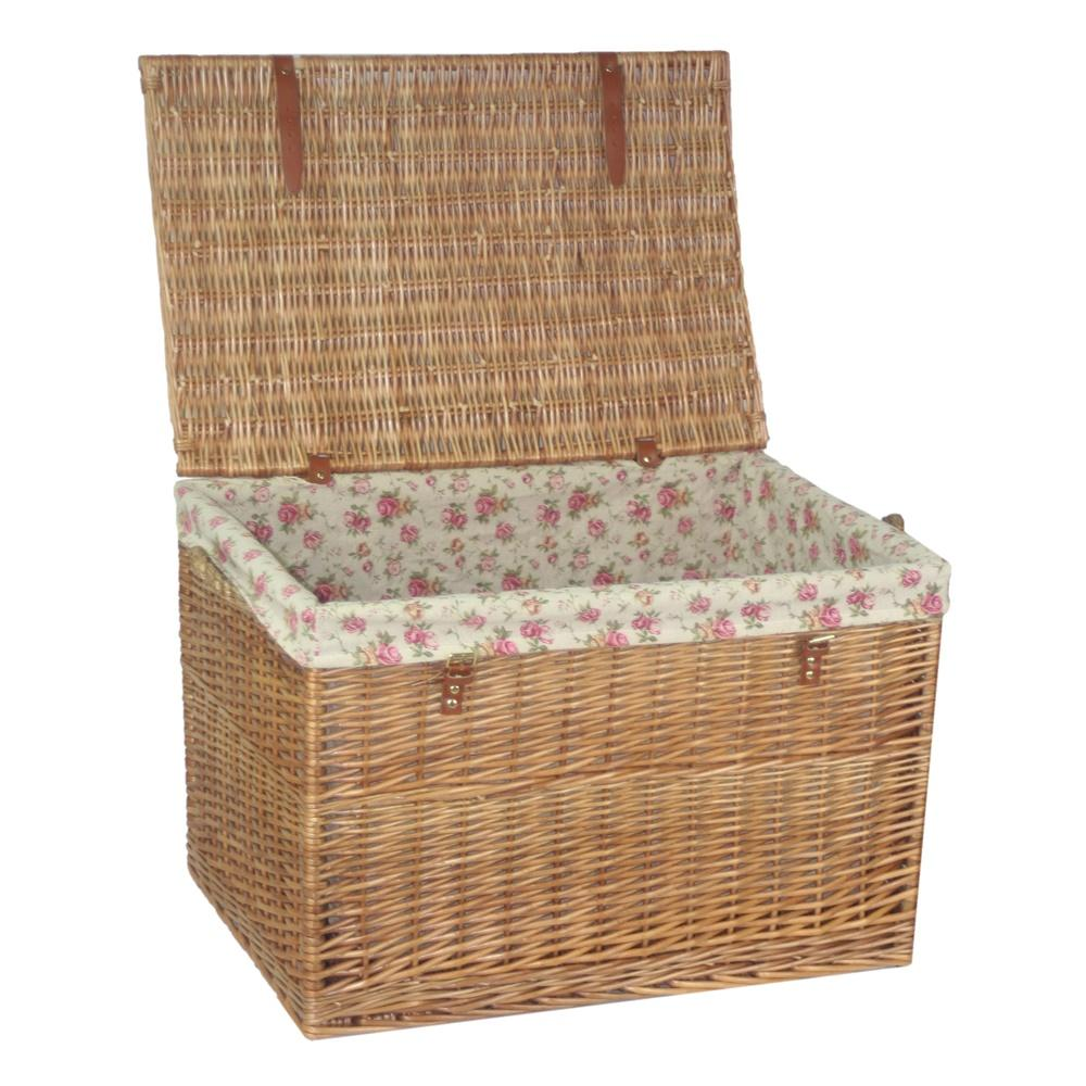 Large Light Steamed Storage Hamper
