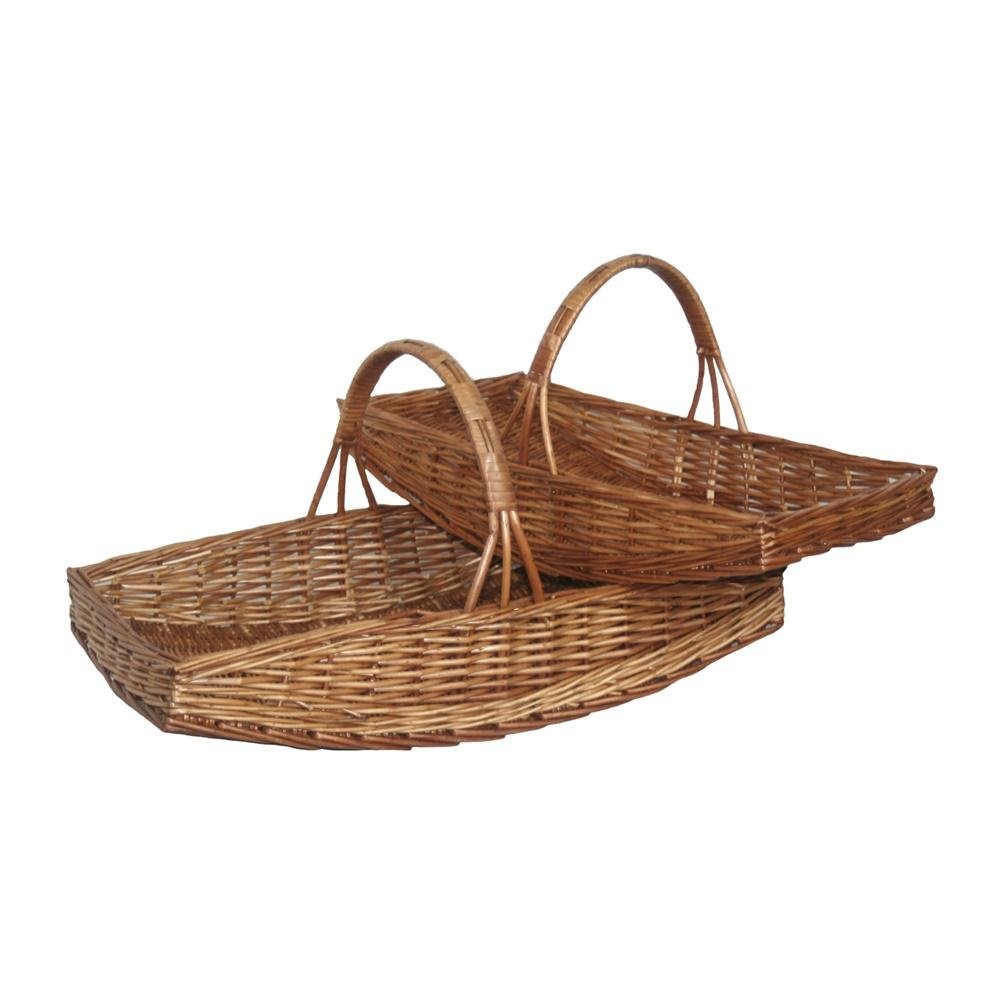 Double Steamed Willow Garden Trug