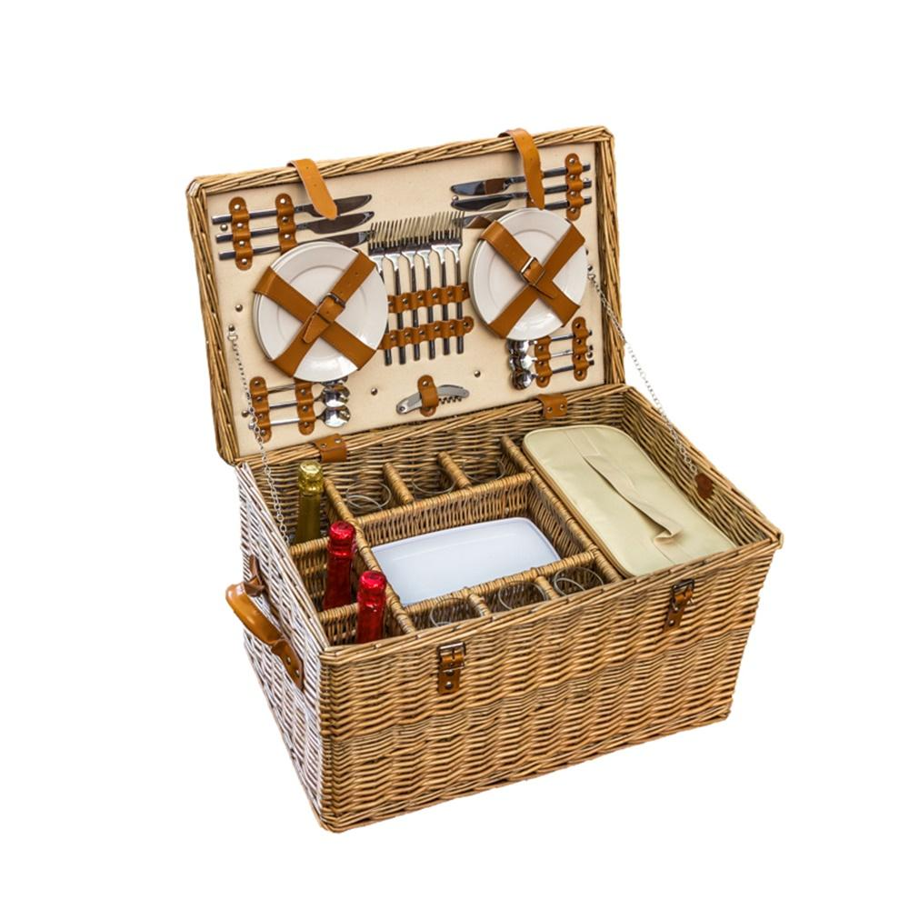 Bentley Fitted Wicker Picnic Basket