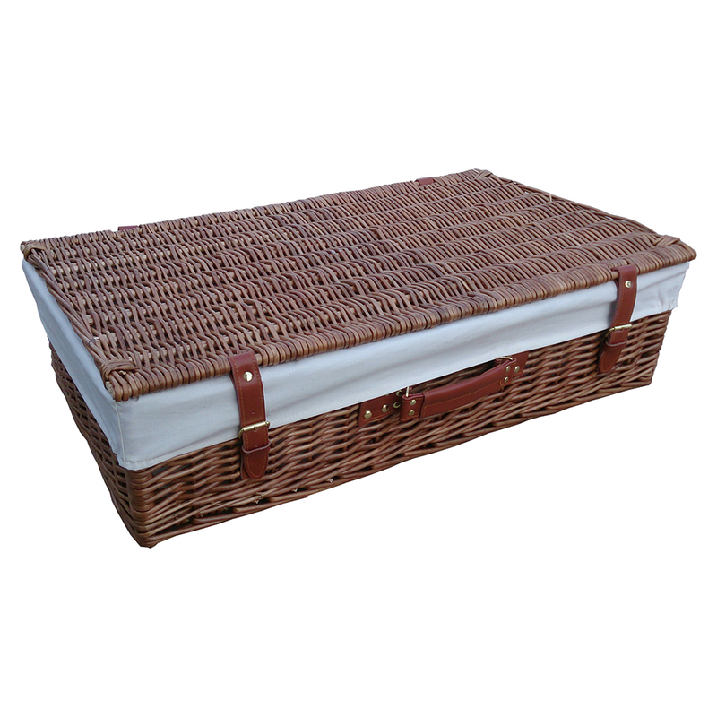 Under Bed Wicker Storage Unit