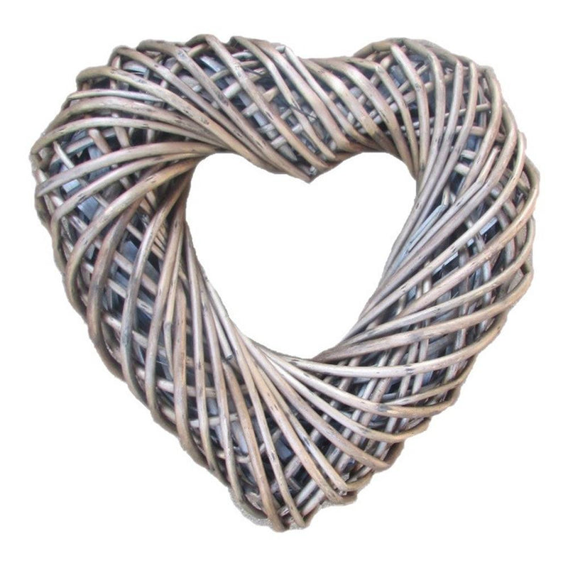 Wicker Small Heart Shaped Wreath