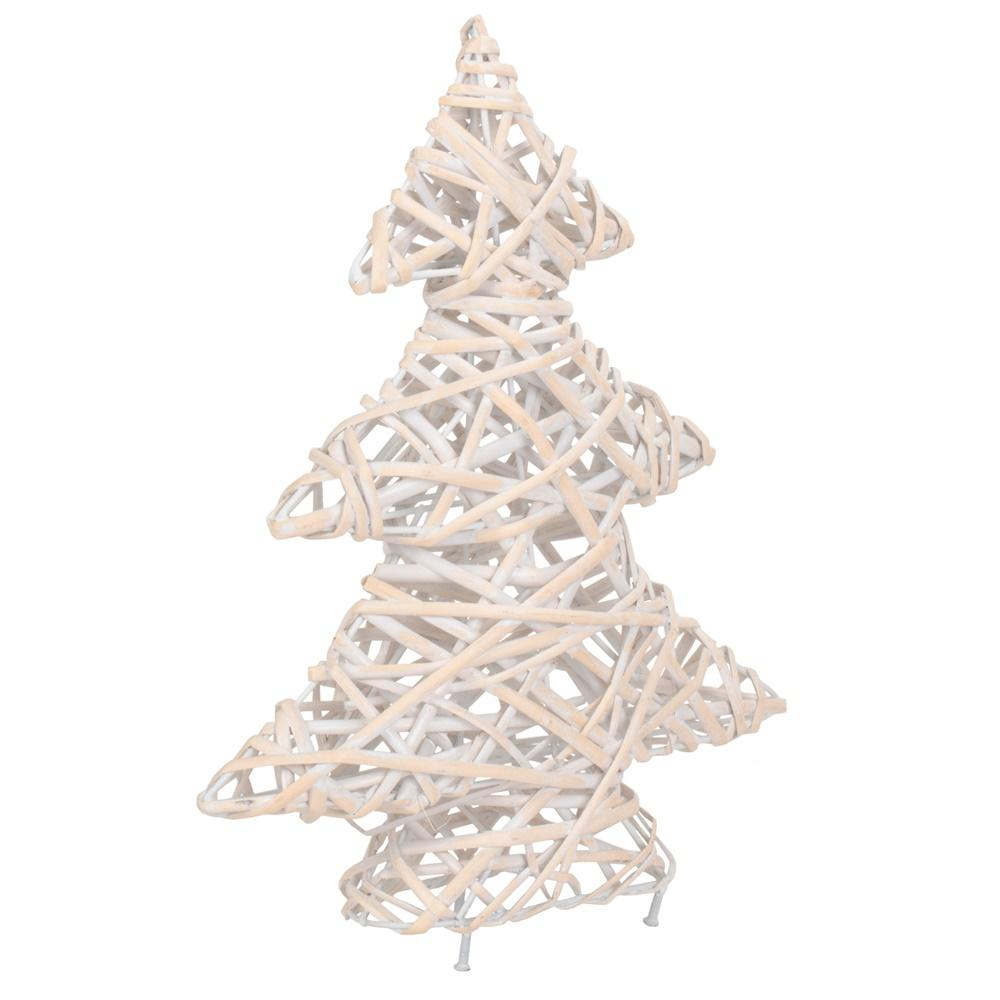 White Wash Christmas Tree