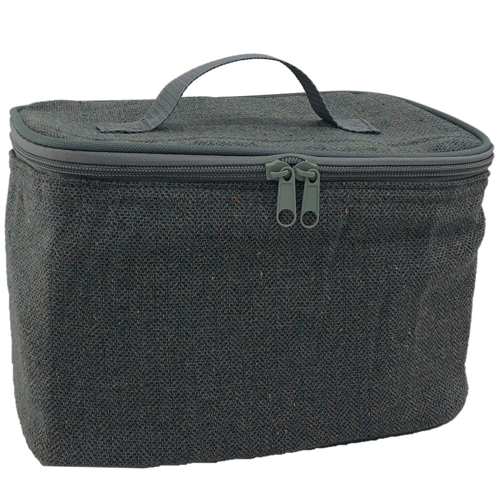 Grey Tweed Chiller Bag