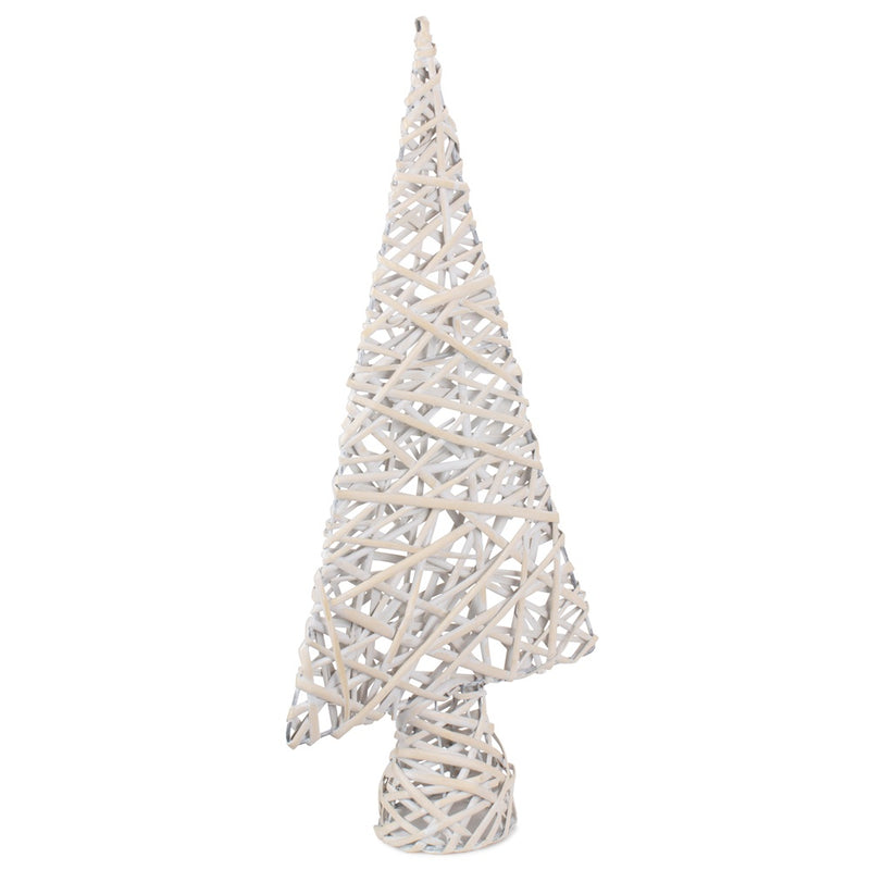 White Wash Table Top Xmas Tree