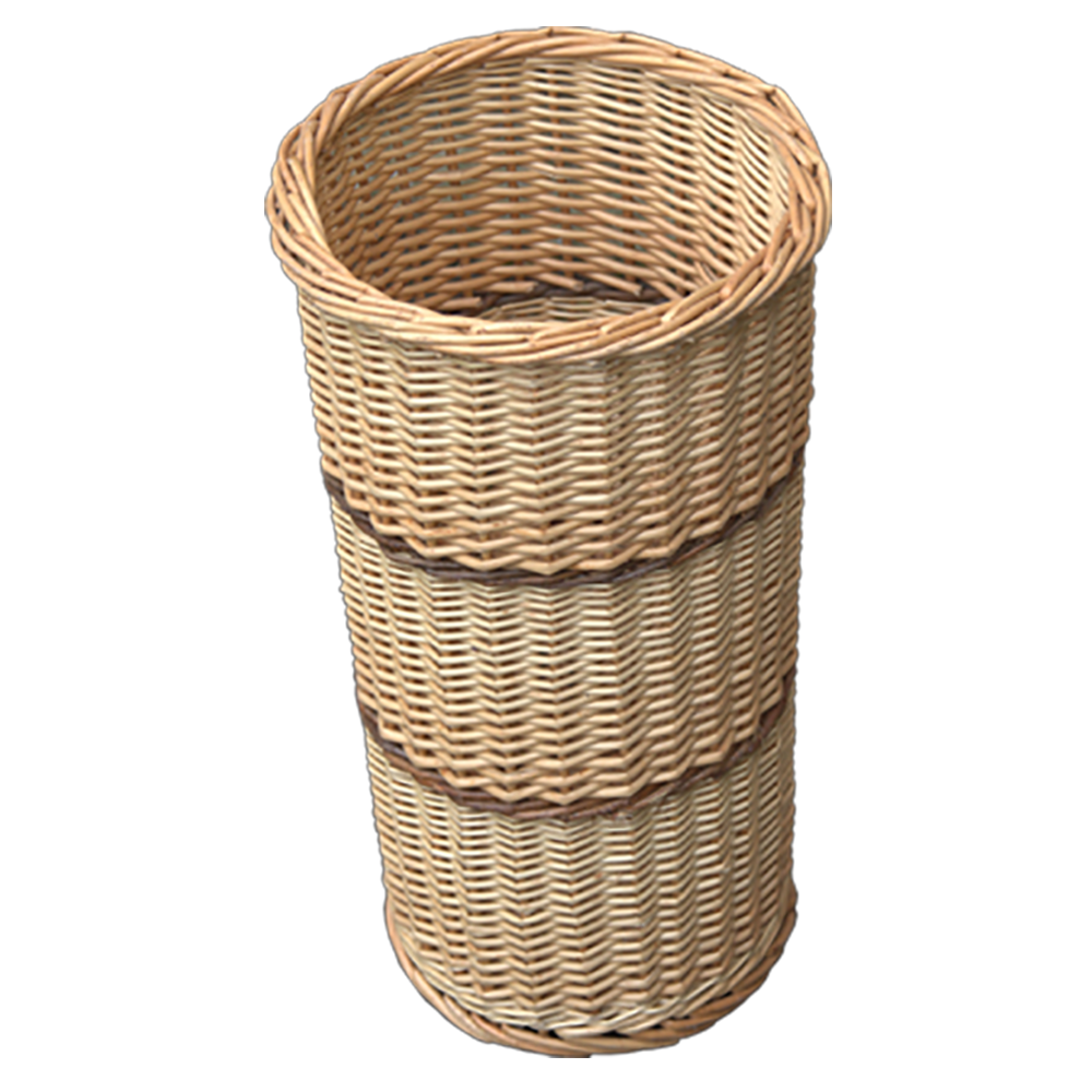 Umbrella Walking Stick Wicker Basket