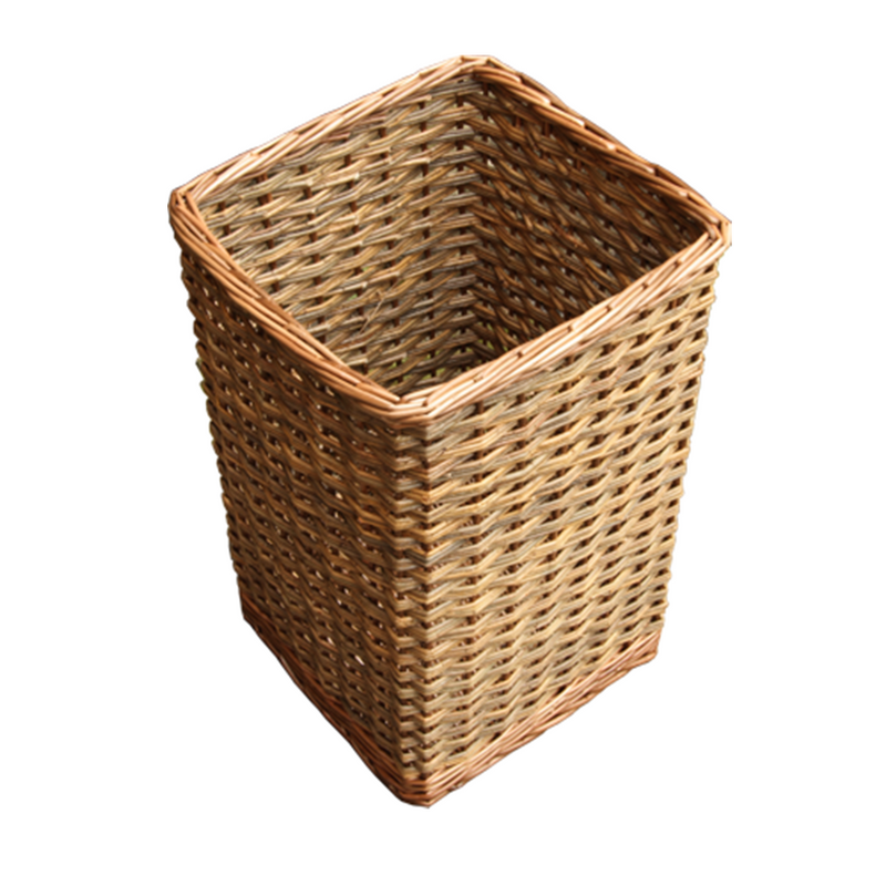 Square Hallway Umbrella Walking Stick Wicker Basket