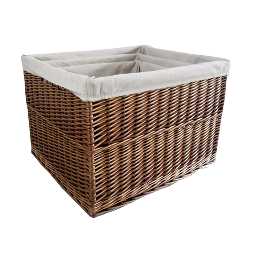 Set of 3 Somerset Rectangular Log basket