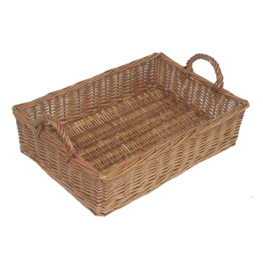 Wicker Rectangular Display Basket