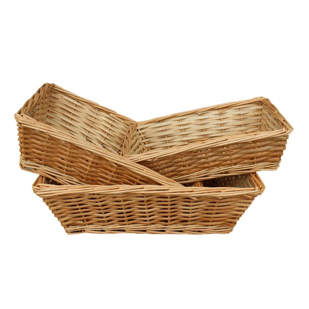 Tapered Split Willow Serving Tray