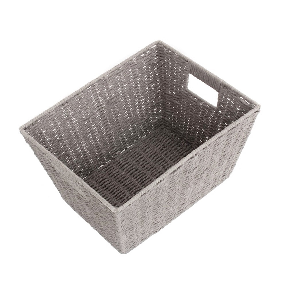 Grey Paper Rope Deep Tray