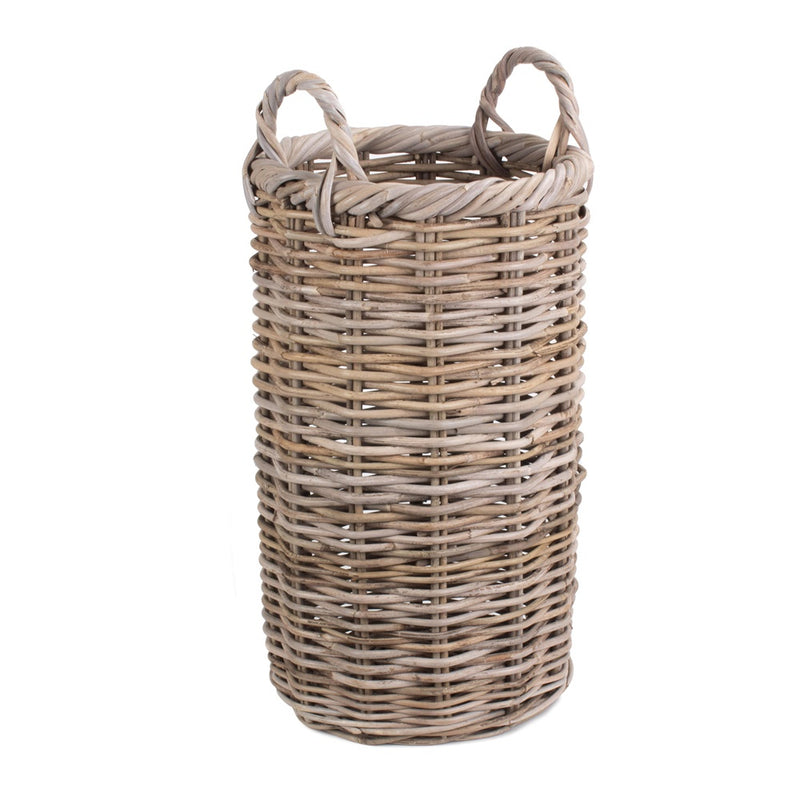Round Rattan Umbrella Basket