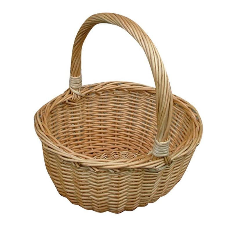 Childs Buff Hollander Shopping Basket