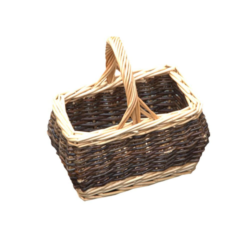 Childs Rectangular Rustic Shopping Basket
