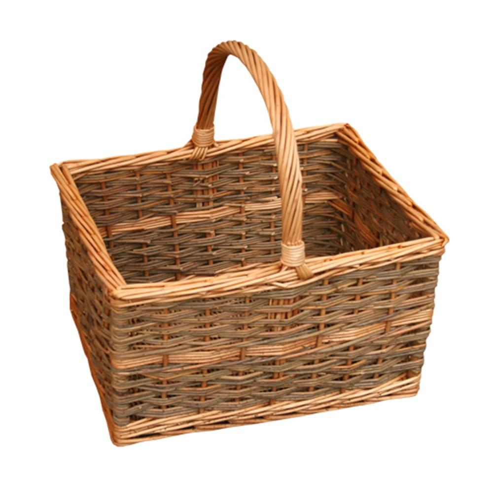 Yorkshire Rectangular Shopping Basket