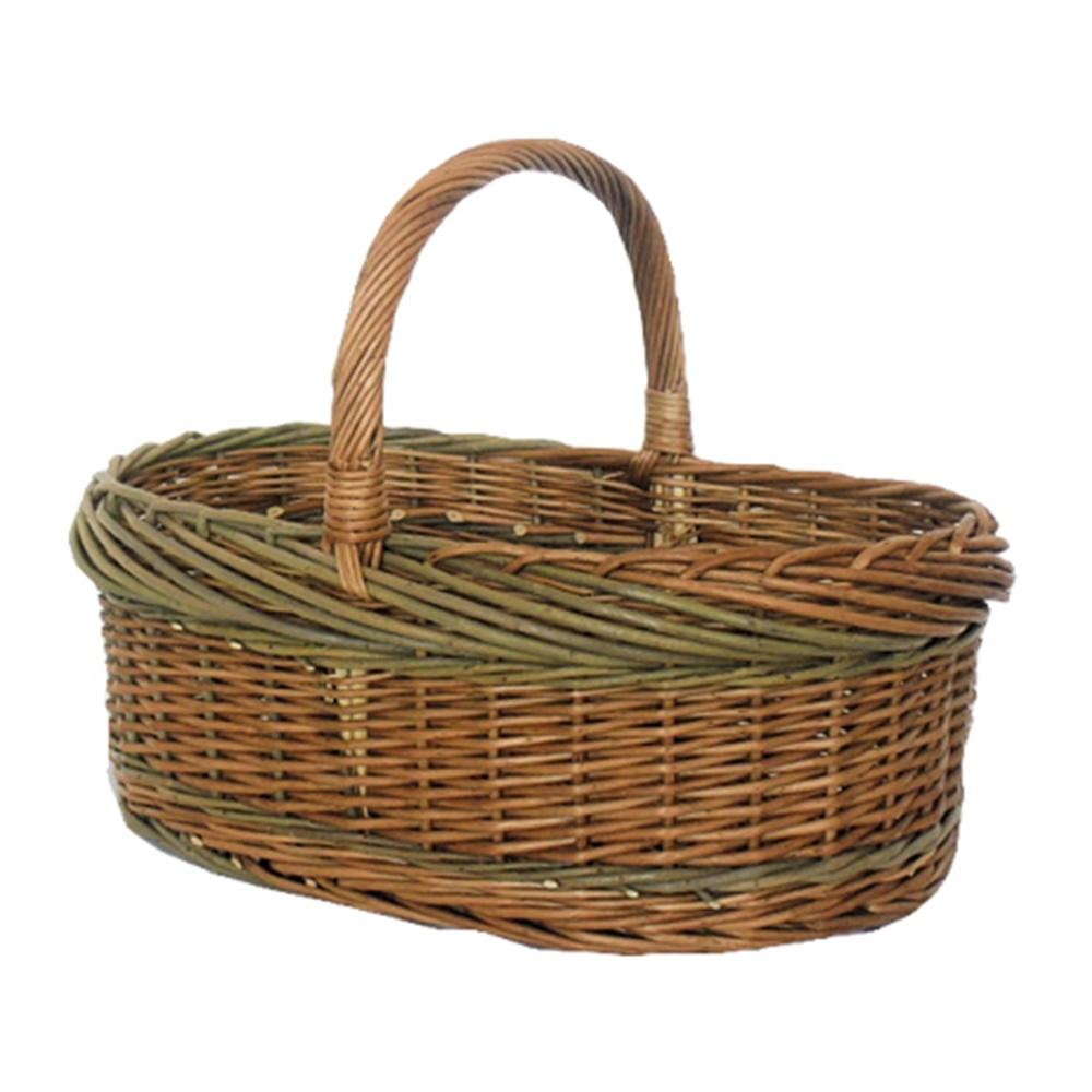 Green Willow Norfolk Shopping Basket