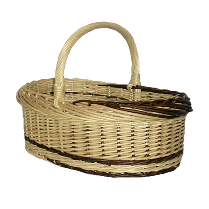 Rustic Willow Norfolk Shopping Basket