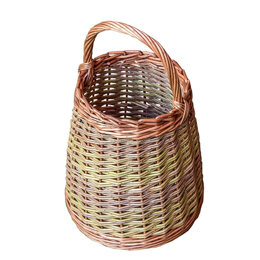 Wicker Berry Collecting Basket