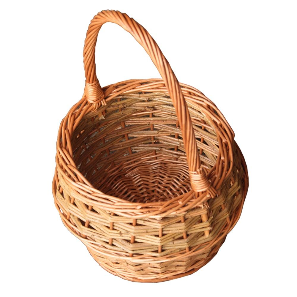 Small Rustic Egg Shopping Basket