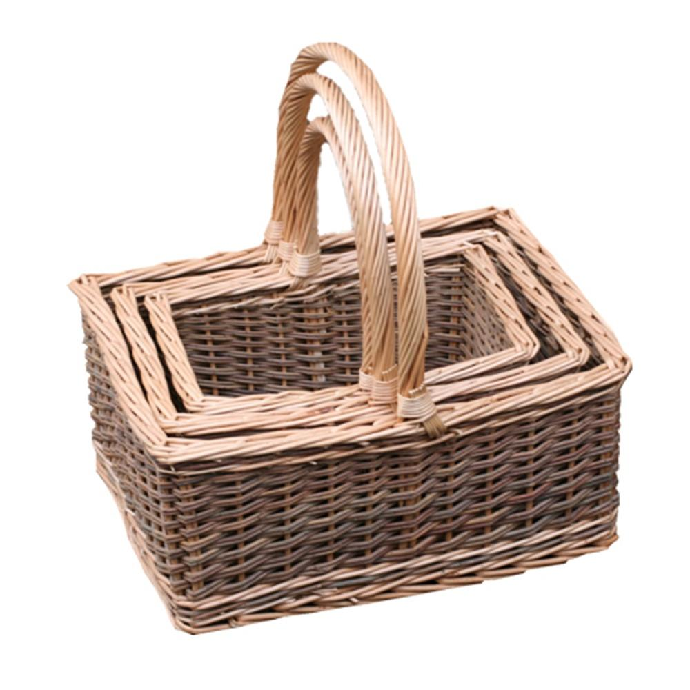 Set of 3 Lakeland Shopping Baskets