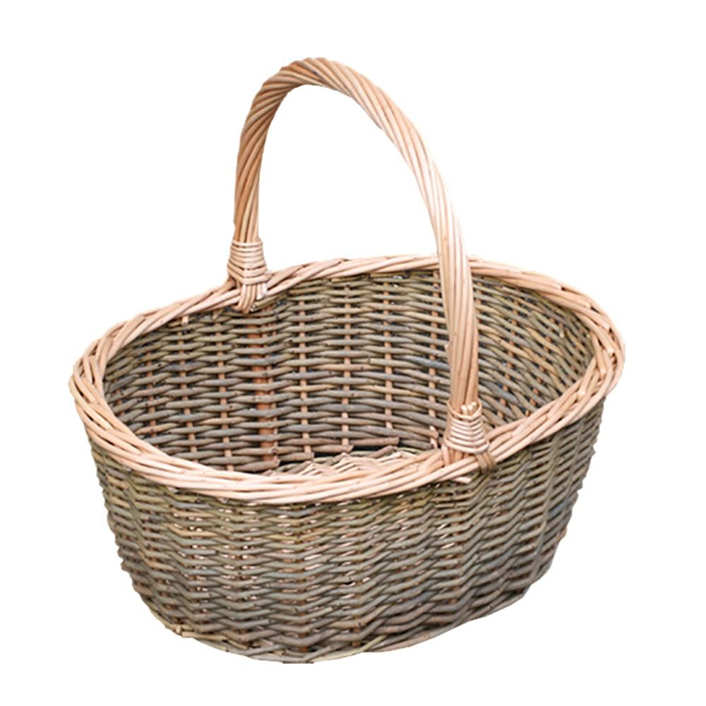 Green Willow Hollander Shopping Basket