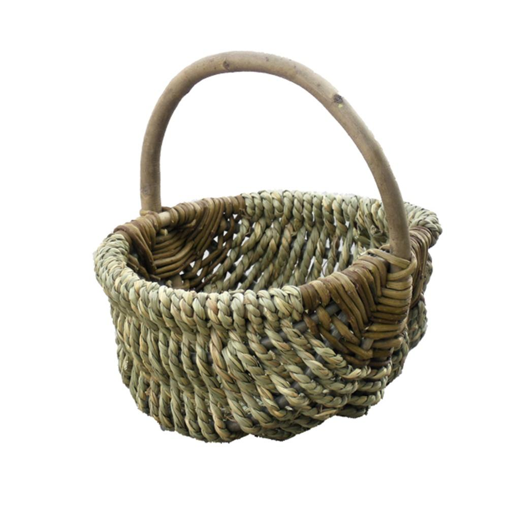 Small Millie Sea Grass Shopping Basket