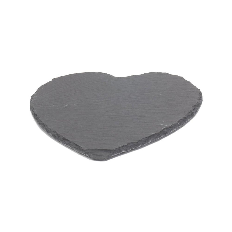 Heart-Shaped Slate Cheese Board