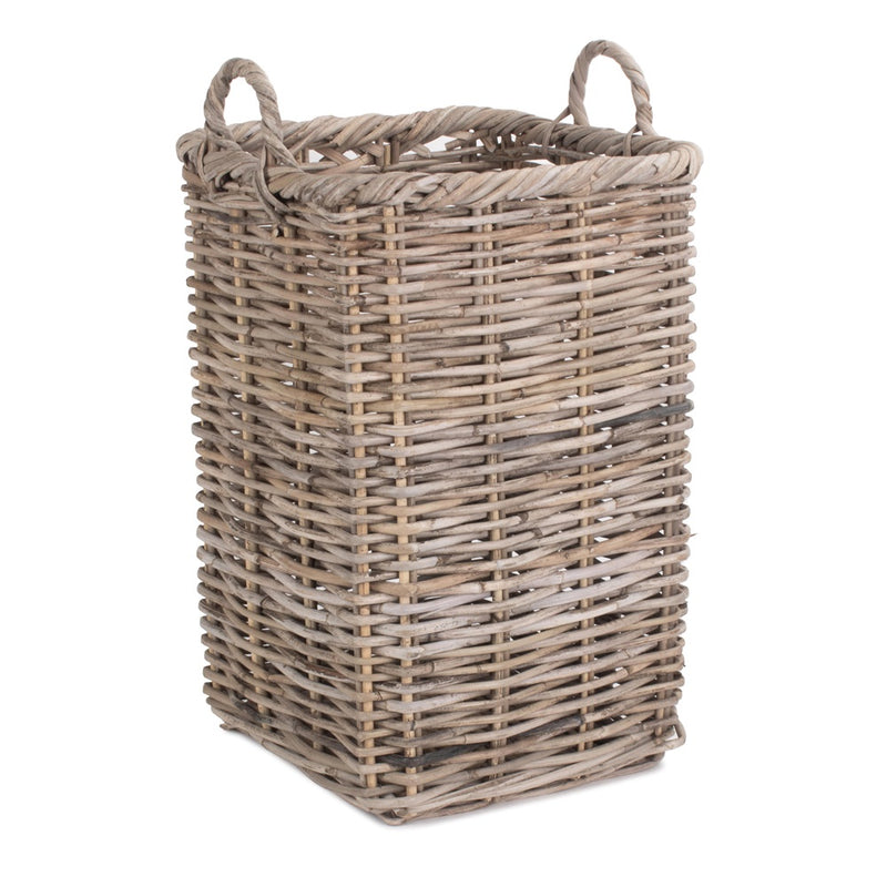 Square Rattan Umbrella Basket
