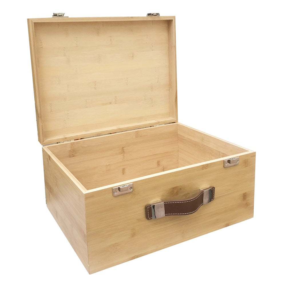 Large Bamboo Storage Box