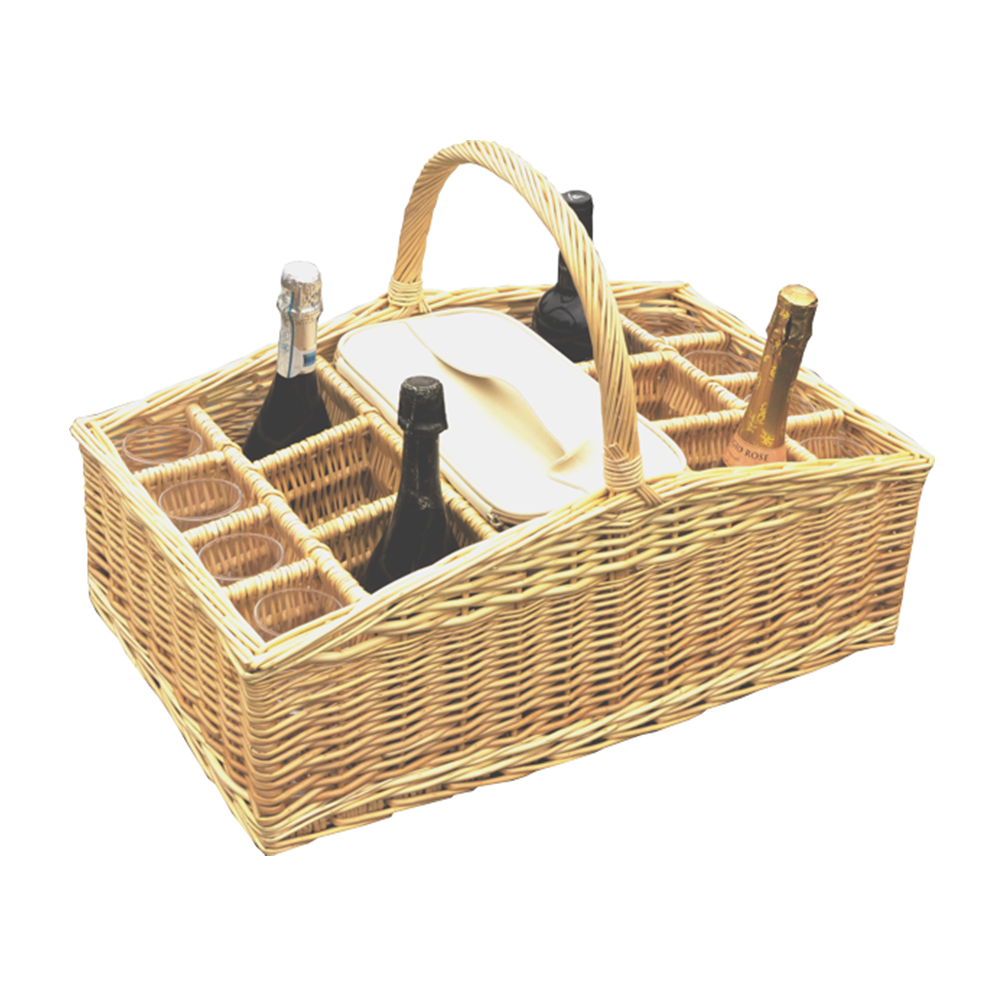 Large Drinks Basket Carrier