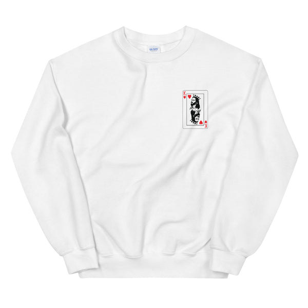 KOH Chest Card Sweatshirt