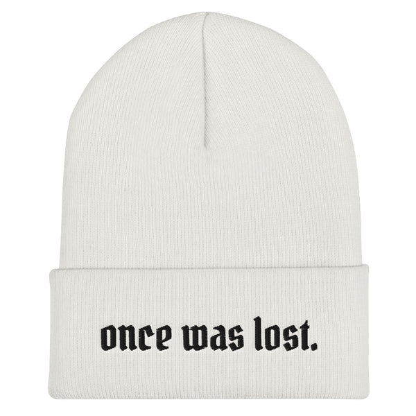 Once Was Lost Cuffed Beanie