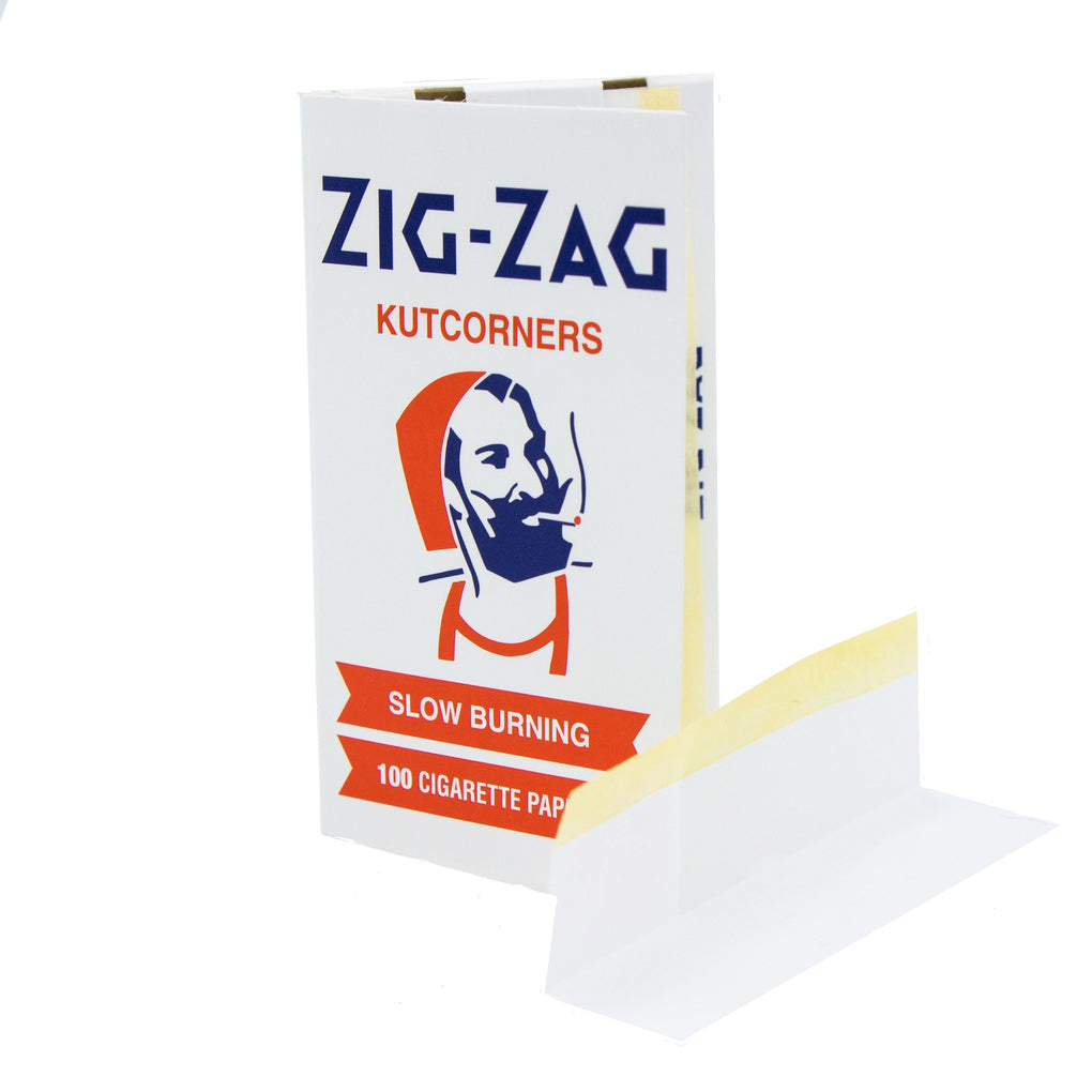 Zig-Zag Kutcorners White Rolling Papers