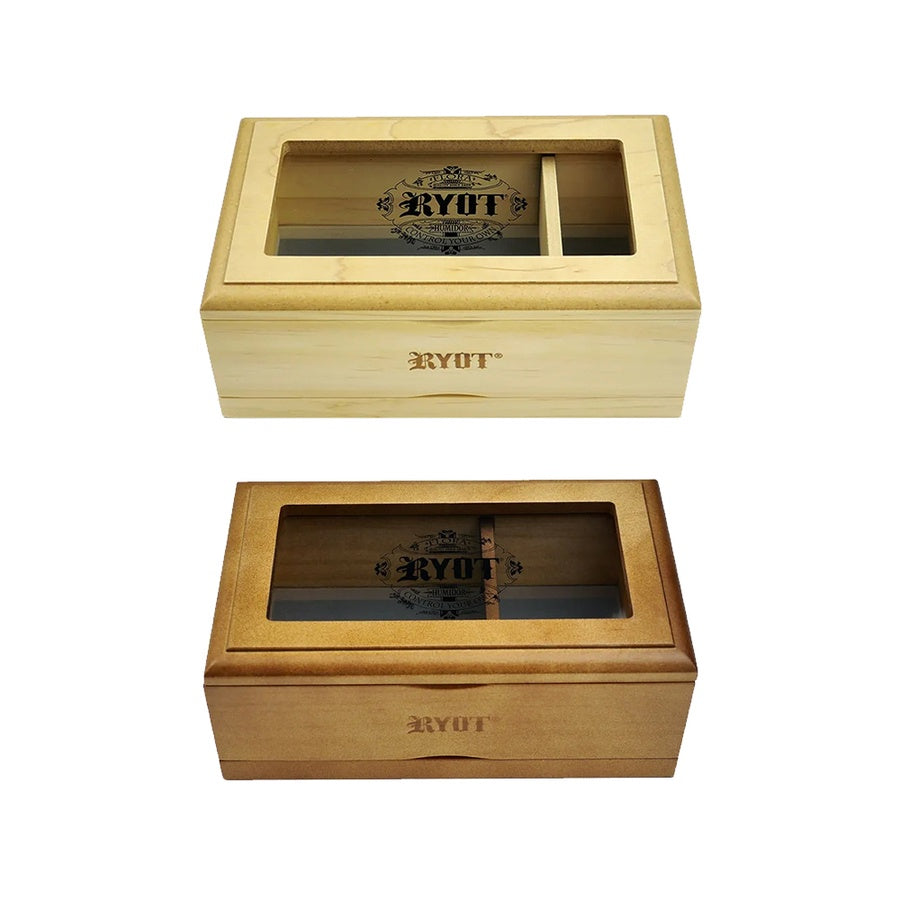 Ryot Glass Top Shaker Box