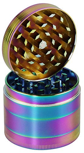 Anodized Zinc 4pc Grinder - 2.2