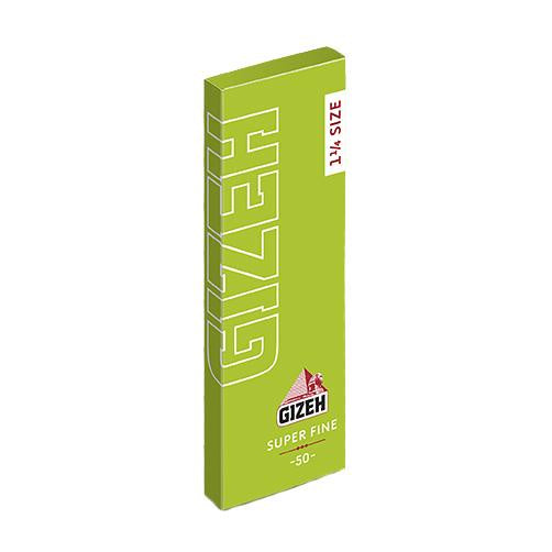 GIZEH 1 1/4 Inch Super Fine Rolling Papers